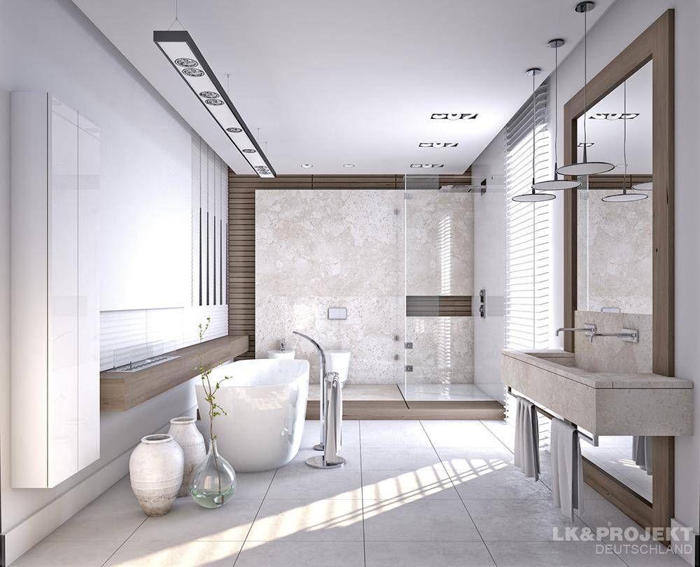 casas de banho modernas por lkprojekt gmbh moderno