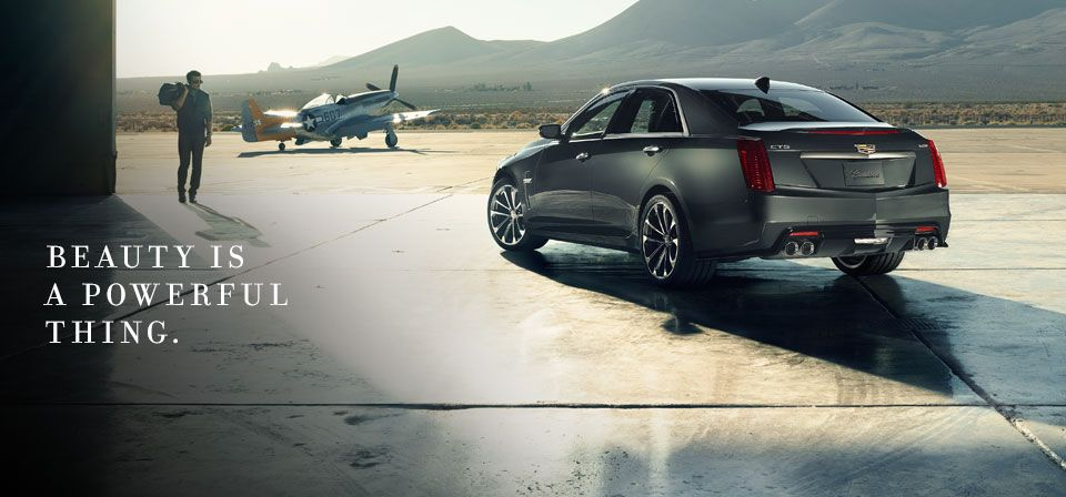 CTS-V. Beauty Is A Powerful Thing.