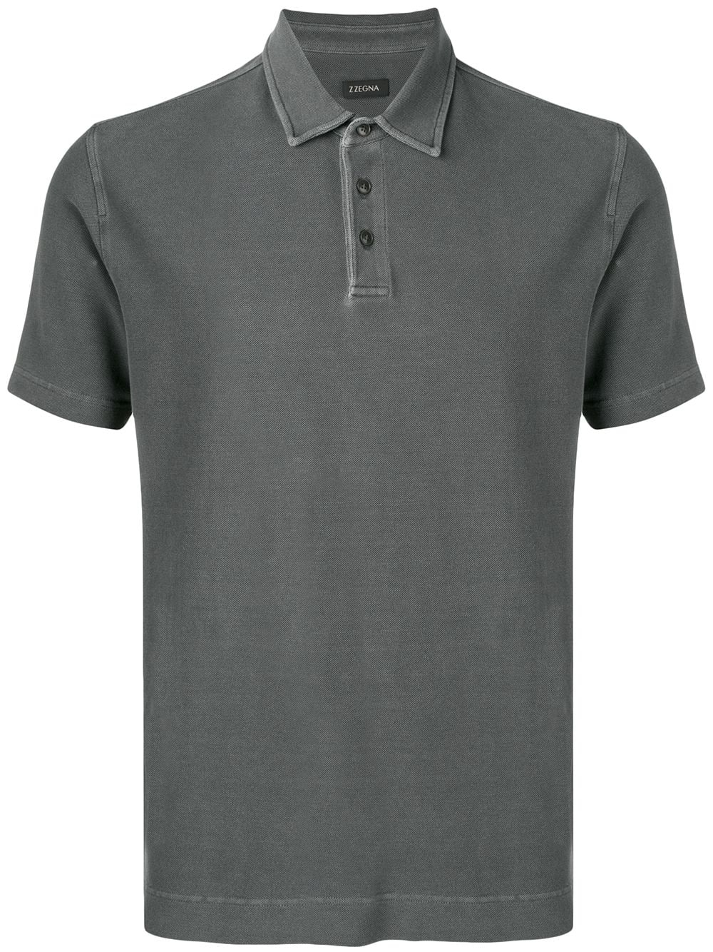8cdfdcc91f Z Zegna classic polo shirt - Grey | Products in 2019 | Polo, Polo ...