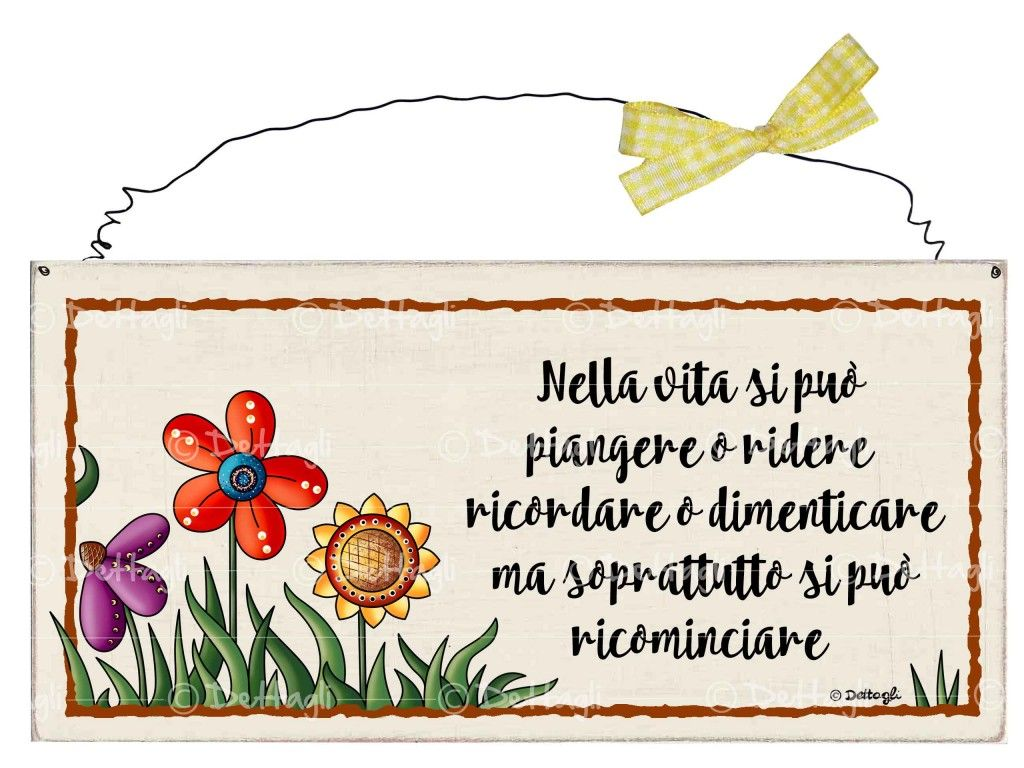 Targhetta fiori vivi semplicemente fiori natale e targhe - Targhette porta ...