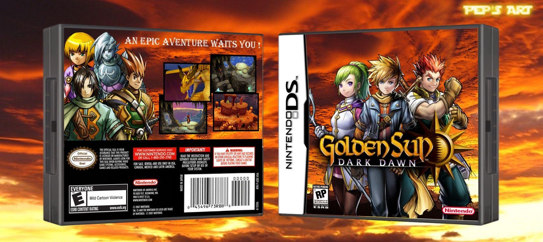 Golden Sun: Dark Dawn box art cover | Golden Sun: Dark Dawn