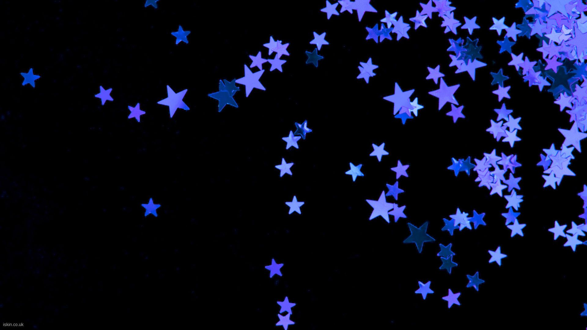 Purple Stars Black And Purple Wallpaper Purple Wallpaper Blue Star Wallpaper