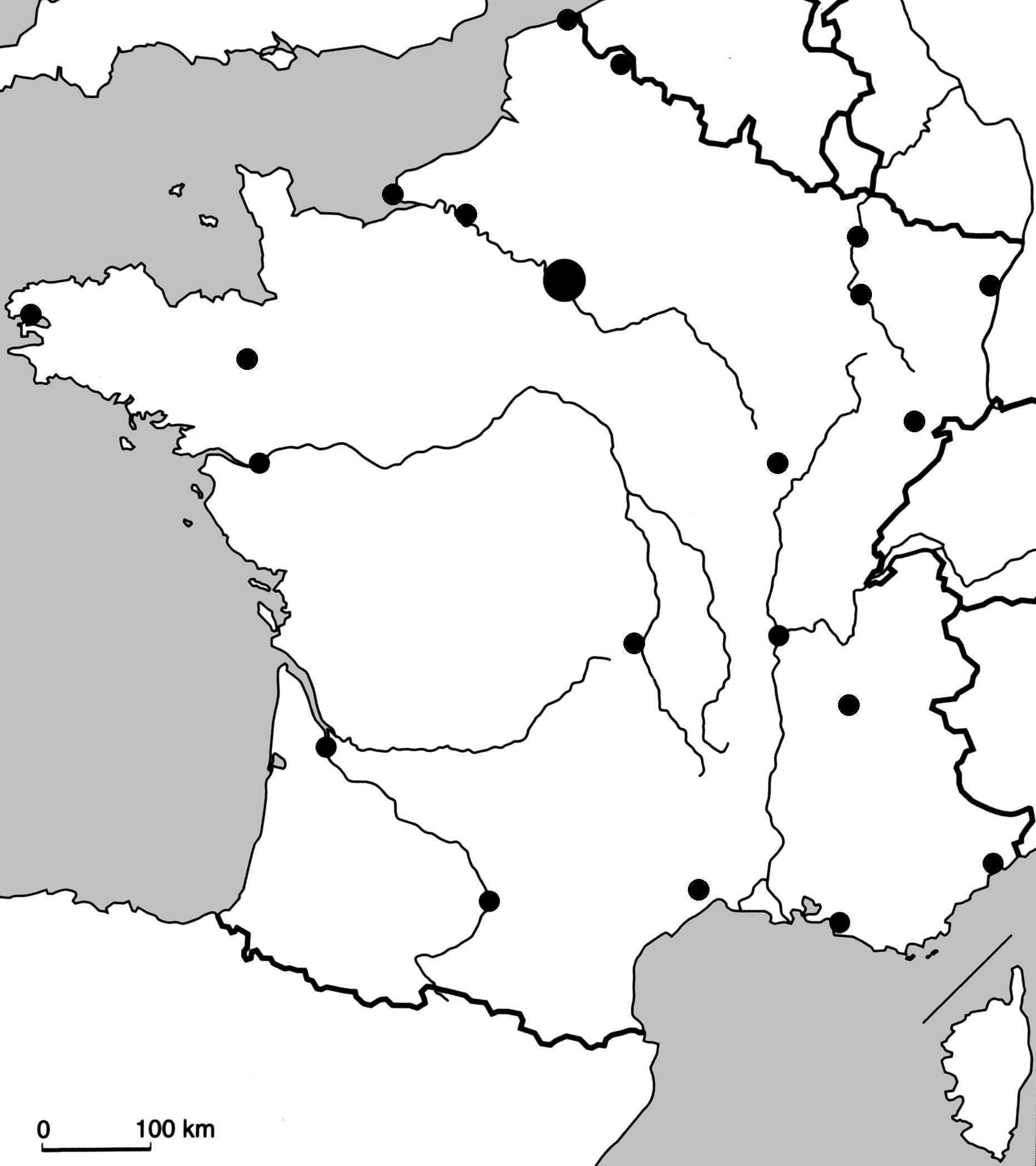 fleuve de france carte 4cartfrville. (1863×2096) | Carte france vierge, Fleuve de