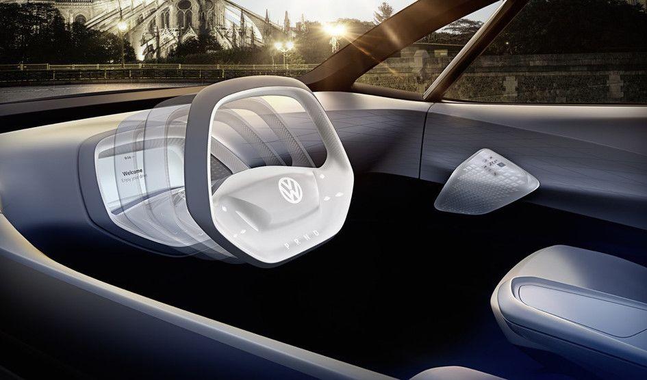 Volkswagen va dévoiler une voiture autonome au volant