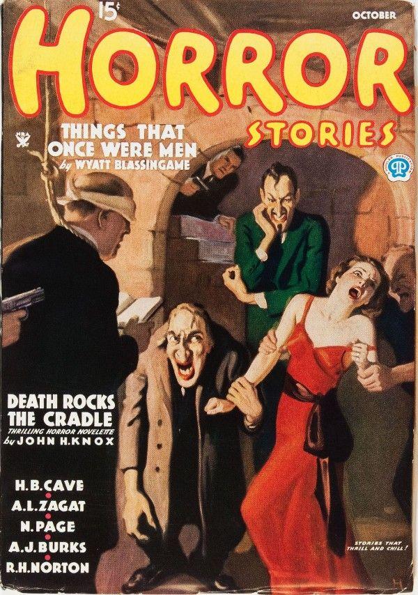 Horror Stories - October 1935