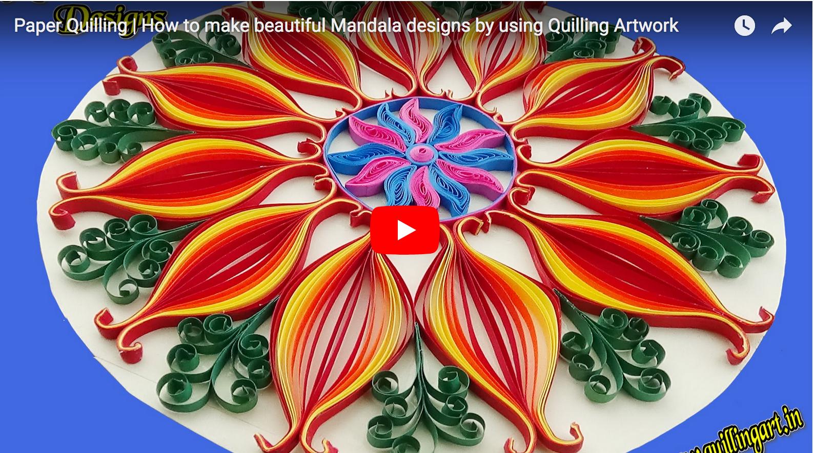 Mandala Monday How To Make Beautiful Mandala Designs By