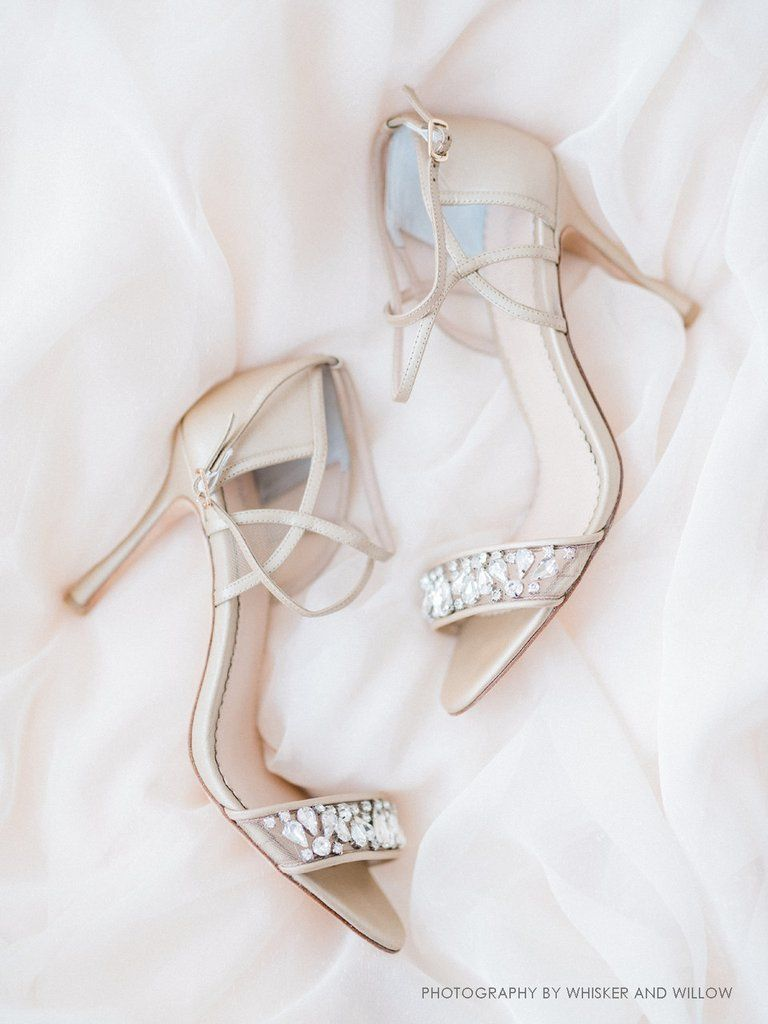 74eb91f713520 Bella Belle Filipa Nude. bridal shoes comfortable nude crystal strappy heels  Blush Pink Wedding Shoes