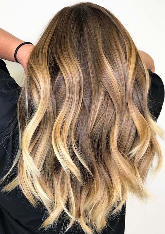 Unique Best Bronde Hair Color