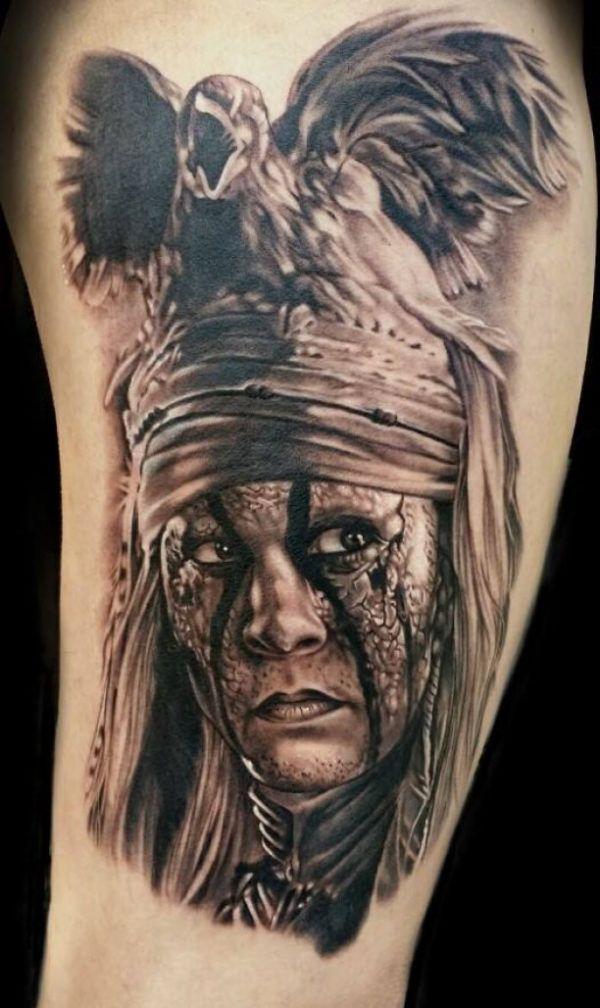 Indische henna motive