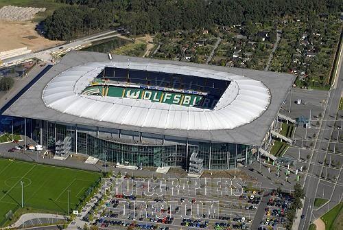 Vfl Wolfburg Volkswargen Arena Football Stadiums Stadium