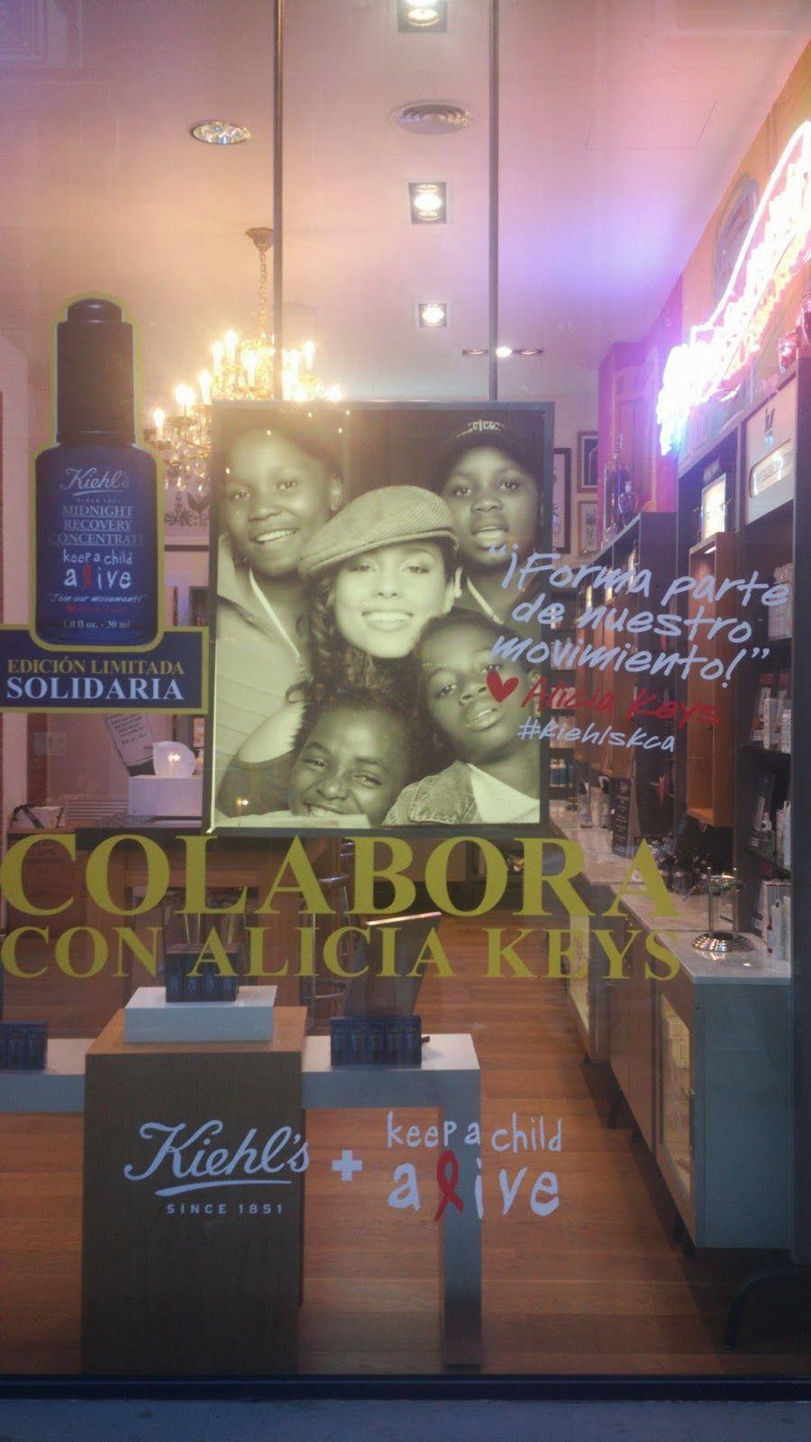 My book of experience: BRANDS: Kiehl's y Alicia Keys colaboran con la fun...