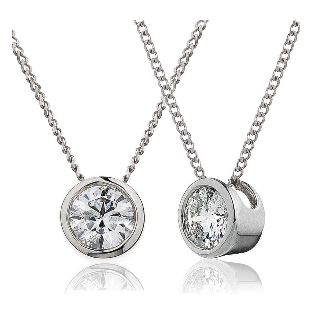 Image result for diamond solitaire pendant bezel necklace ideas image result for diamond solitaire pendant bezel aloadofball Image collections