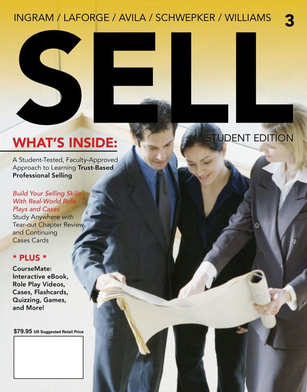Sell 3e ebook rental selling skills sales marketing
