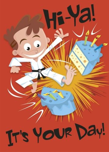 Carte Anniversaire Karate.Happy Birthday Boy Karate Google Search Anniversaire