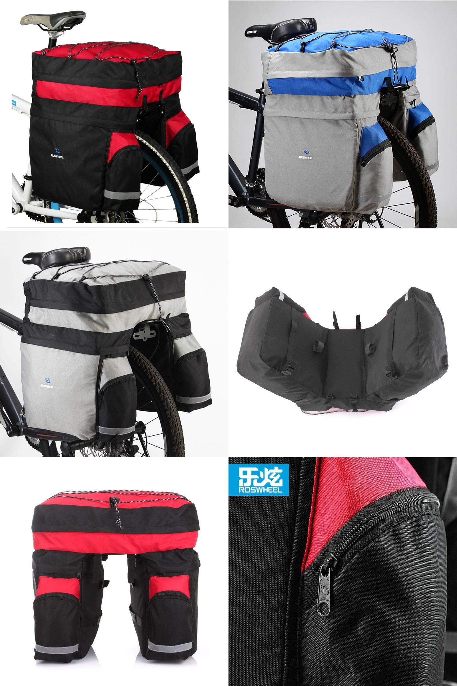 Visit To Buy Roswheel 60l Mtb Bicycle Carrier Bag Rear Rack Bike