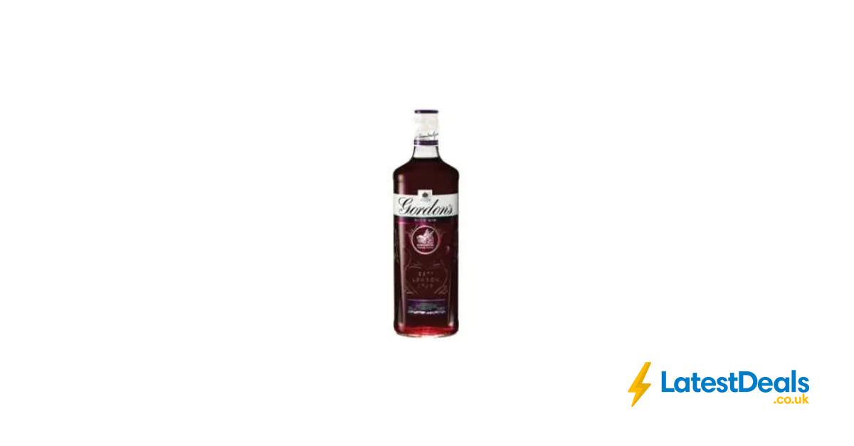 Gordons Sloe Gin >> Gordon S Sloe Gin 70cl 13 At Asda Booze Gin Asda