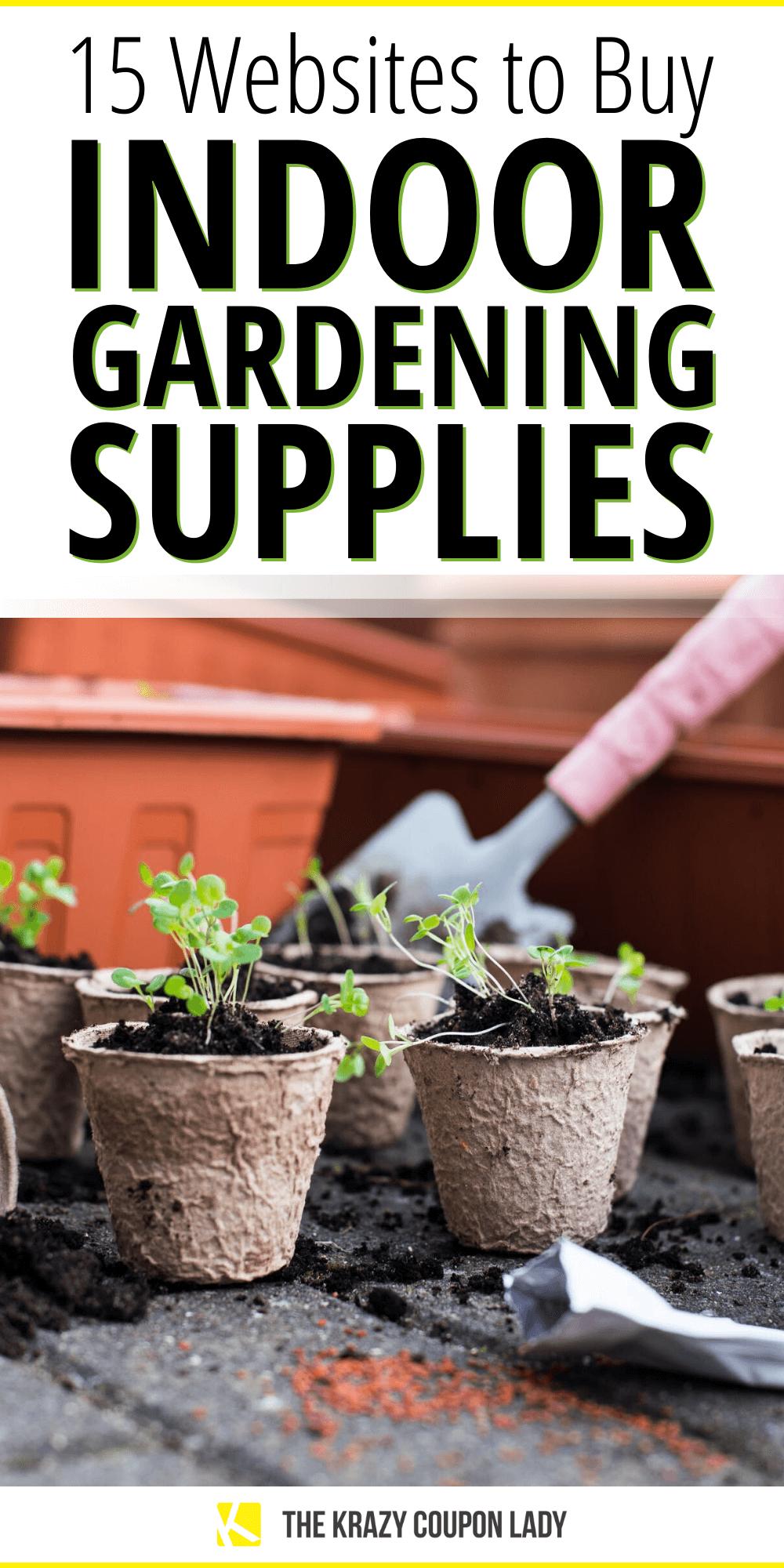 Indoor Gardening Supplies For Beginners