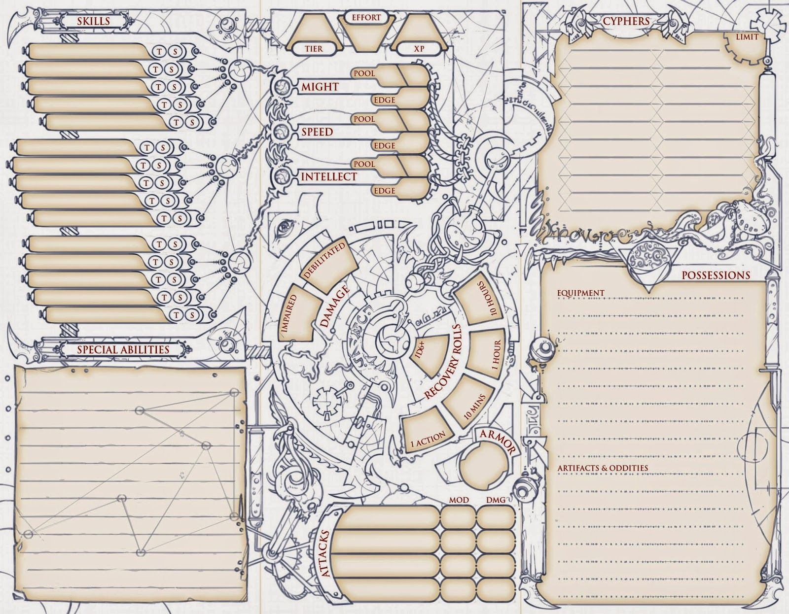 Character Design Guide Pdf : Jerreth esq august d character sheets