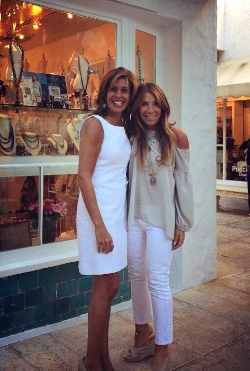 One of our favorites~Hoda with Jennifer Miller in NYC