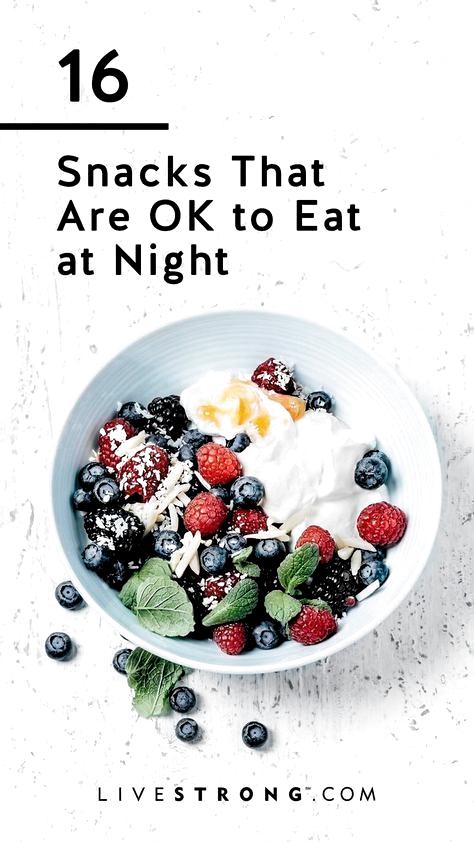 Eat healthy snacks banana healthy snacks before bed