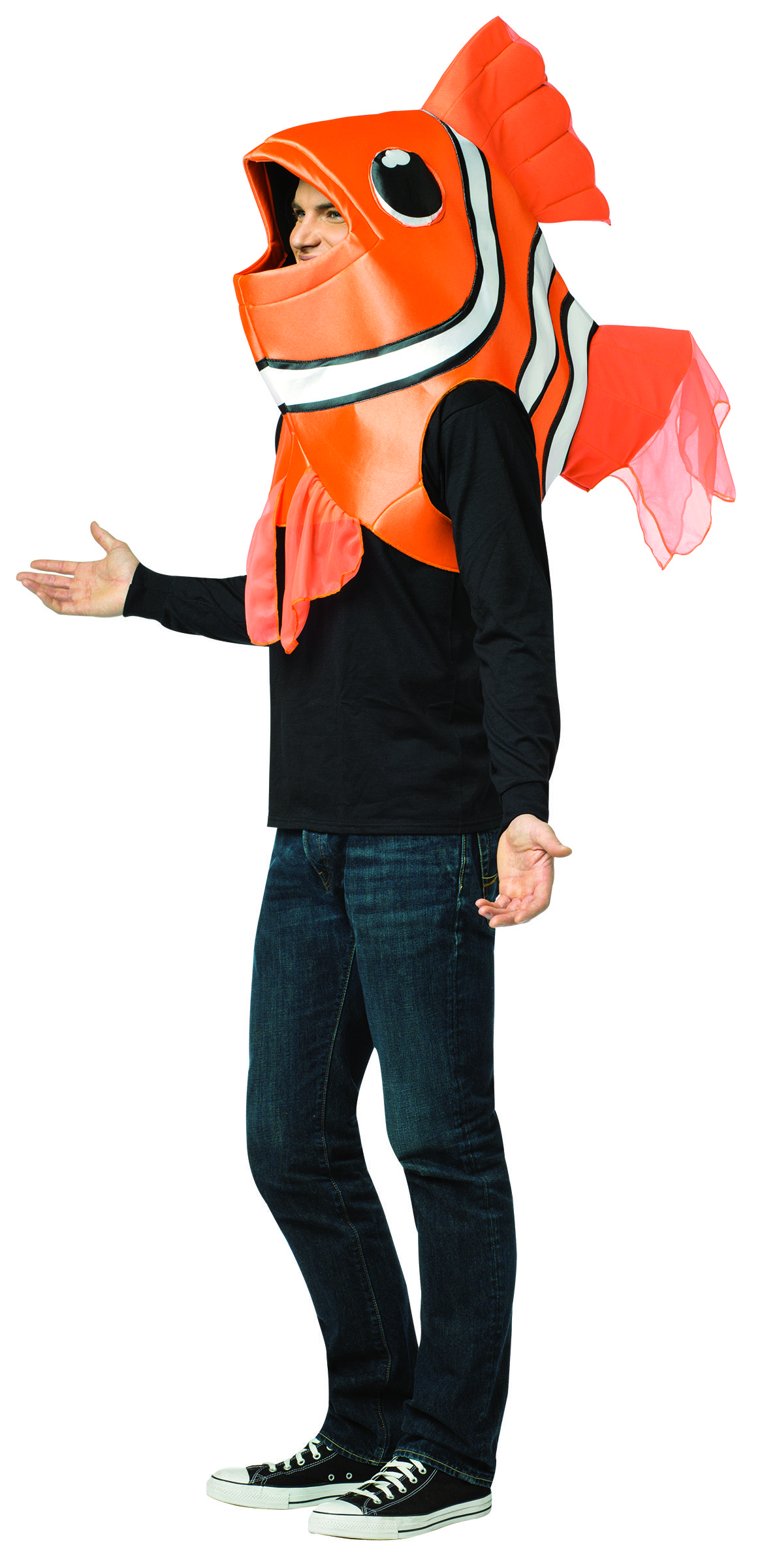 6702 Clownfish Vest This easy to wear Clown Fish hat