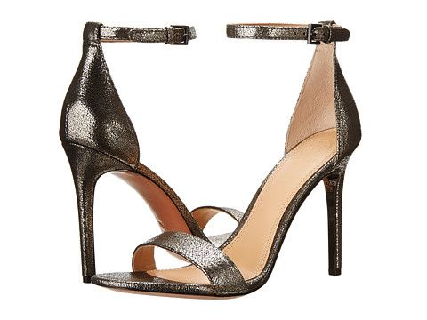1d77fb7cf Tory Burch Keri 100mm Sandal Pewter - Zappos Couture Ankle Strap High  Heels