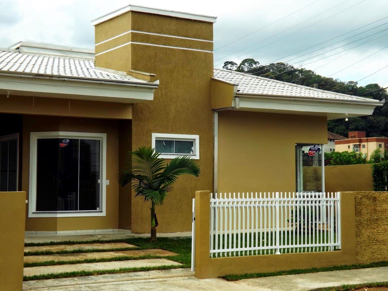 Casa com fachadas pintadas com textura pesquisa google homes home google gourmet - Fachadas de casas pintadas ...