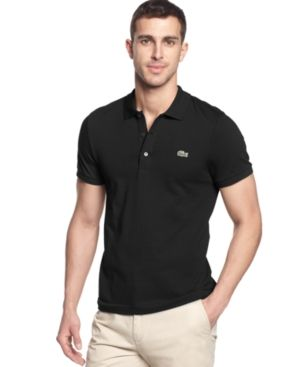 7dd7a8707b Men's Slim-Fit Polo in 2019   Products   Slim fit polo shirts, Polo ...