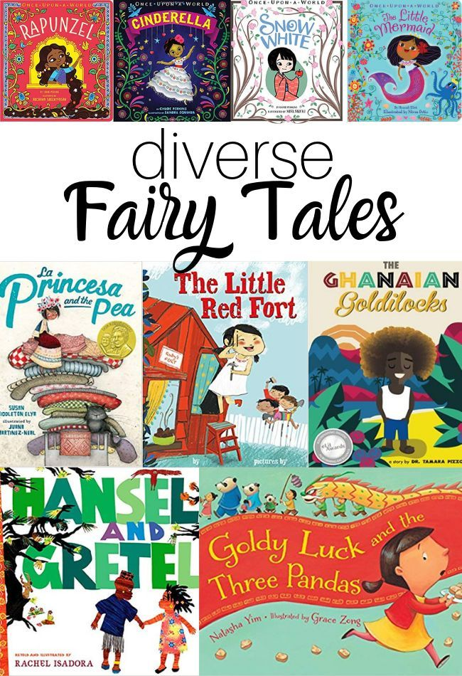 Culturally Diverse Fairy Tales - 11 picture books for your classroom - No Time For Flash Cards #booksforkids #prek #books #fairytales #equityineducation