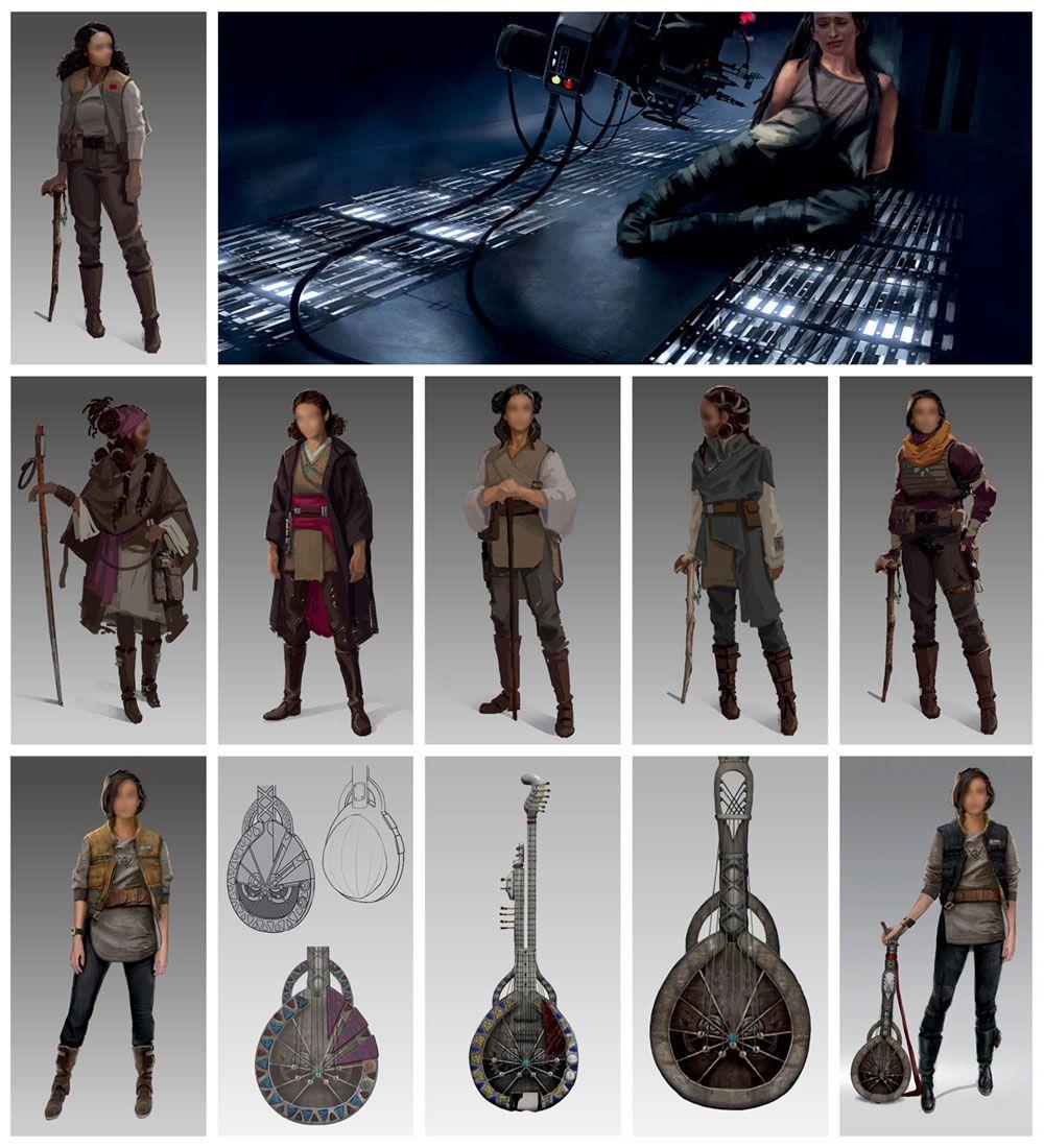 Cere Junda Ideation Art Star Wars Jedi Fallen Order Art Gallery Star Wars Outfits Star Wars Art Star Wars Jedi