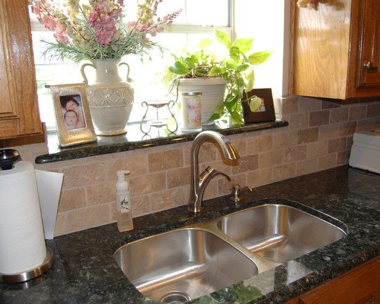 Window Sill To Match Countertop Waterproof Nice Touch Kitchen Sills Design Pictures Remodel Decor And Ideas