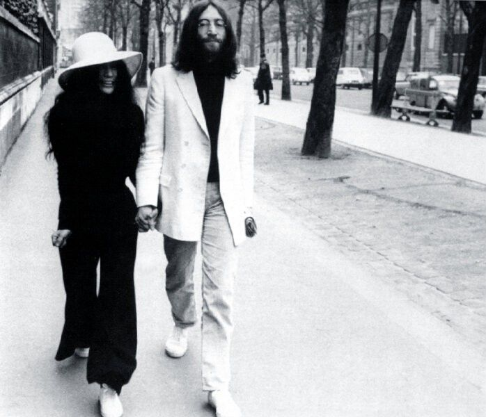 Beatles Yoko Ono Wedding Dress