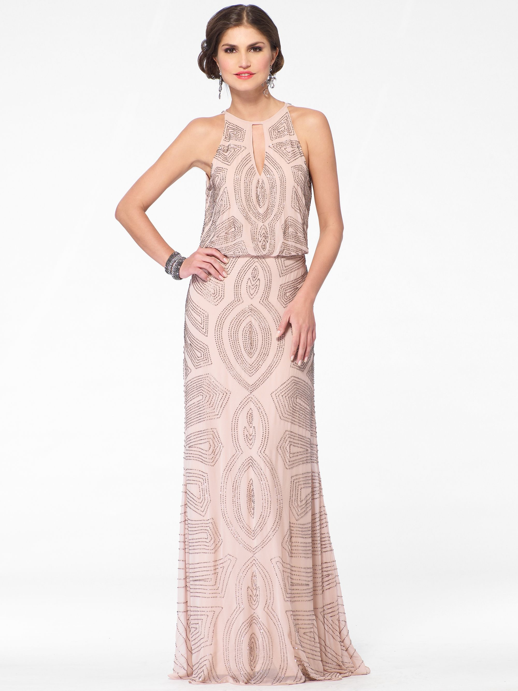 Evening dresses pink deco beaded keyhole gown cach only 328 evening dresses pink deco beaded keyhole gown cach only 328 ombrellifo Choice Image