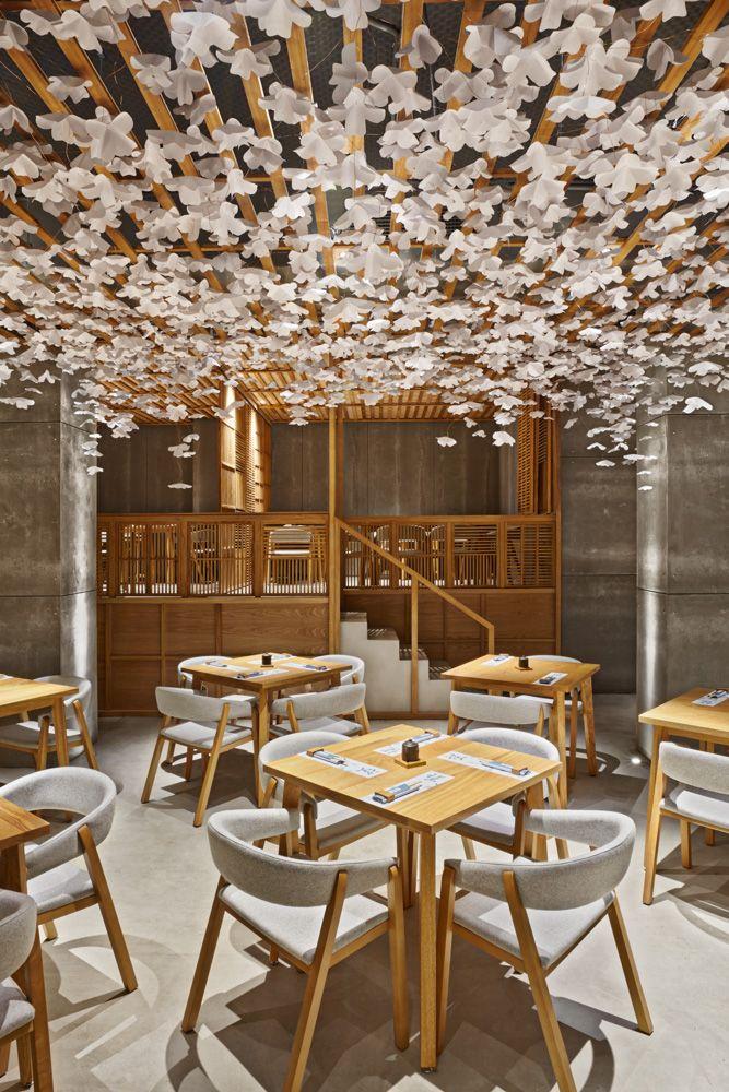 Sushi Restaurant Design this sushi restaurant in spain is inspiredthe look of japanese