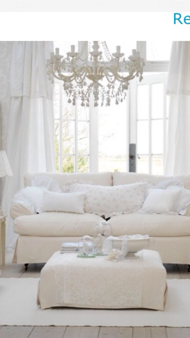 37 Dream Shabby Chic Living Room Designs | Shabby chic living room ...