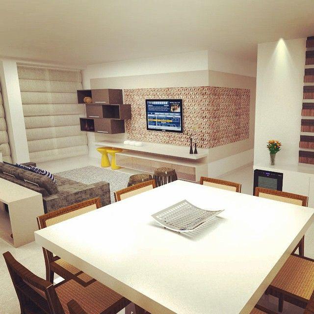 Perspectiva Sala De Jantar | Interior Design | Sketchup Render