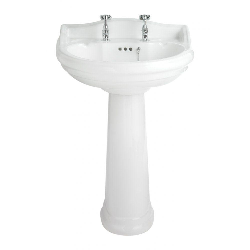 Traditional bathroom sink -