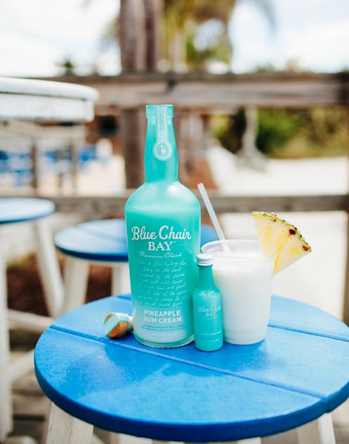 PINEAPPLE SLICE // 2 oz. Blue Chair Bay®, Pineapple Rum