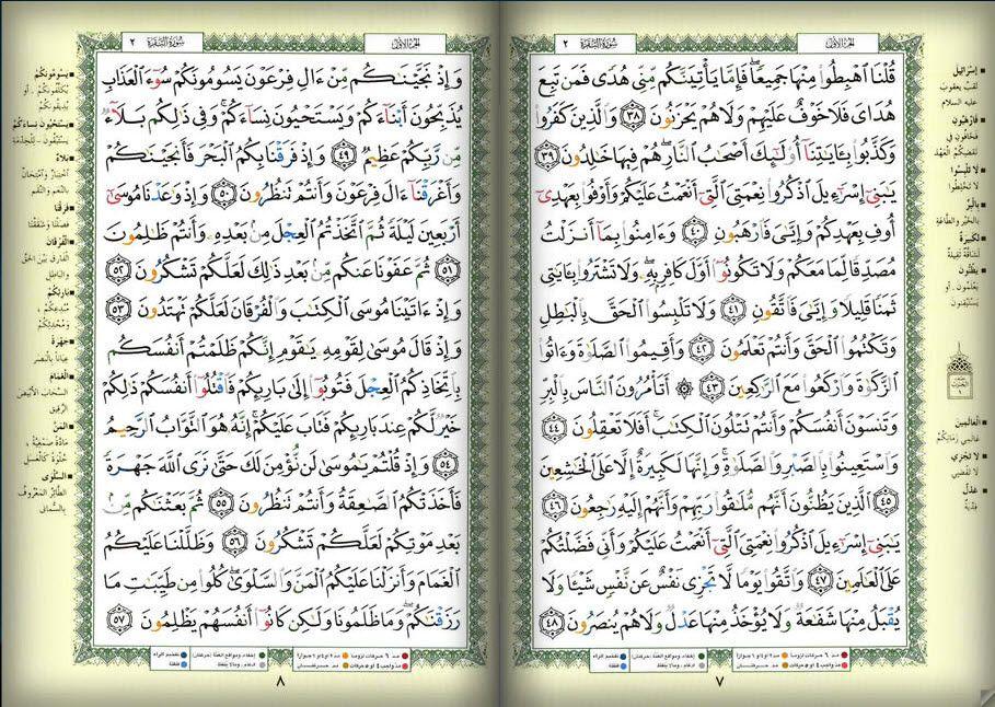 صفحه 7 8 القرآن المصور الجزء الأول سوره البقرة Bullet Journal Wallpaper Quotes Journal