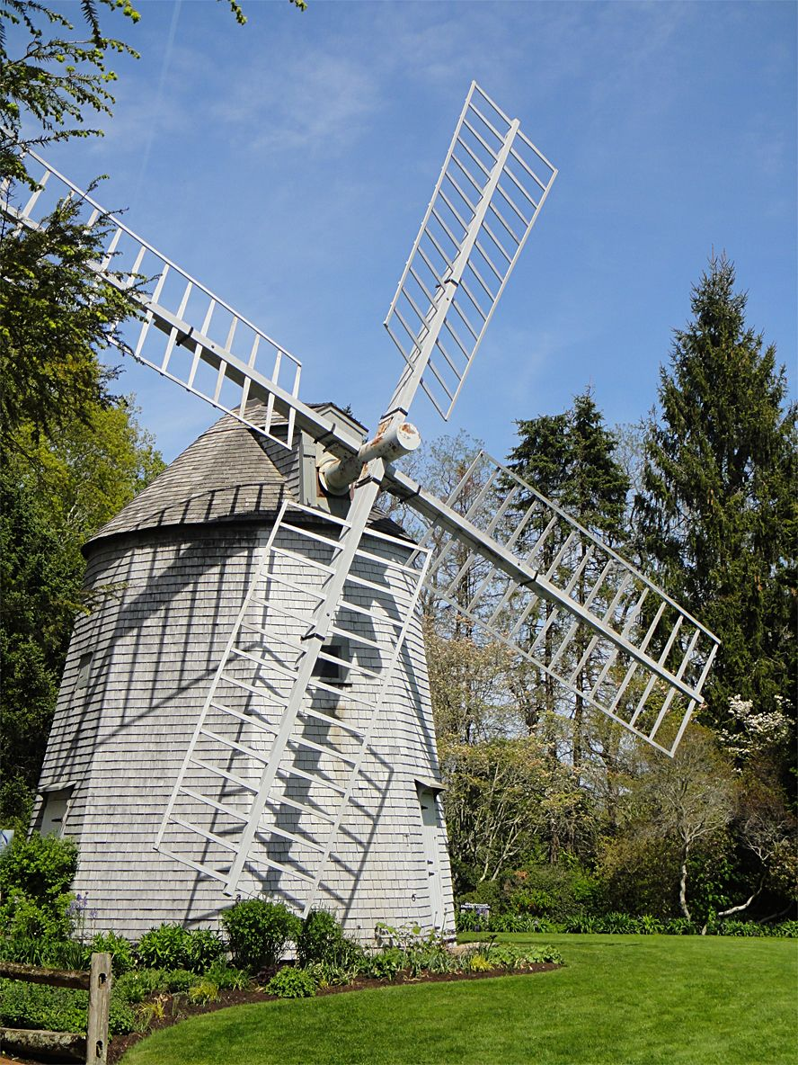 The Old East Windmill is a sight to see. Summer vacation