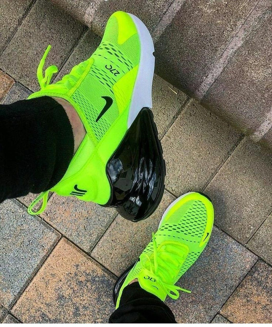 Air 270 Neon #shoessneakers | Sneakers, Sneakers fashion
