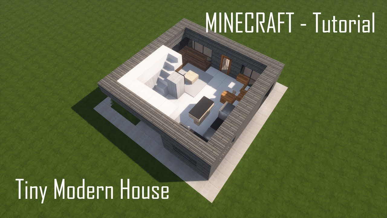 Minecraft Tiny Modern House Tutorial Interior Https Cstu Io B4e847 Minecraft Modern Modern Tiny House Minecraft Architecture