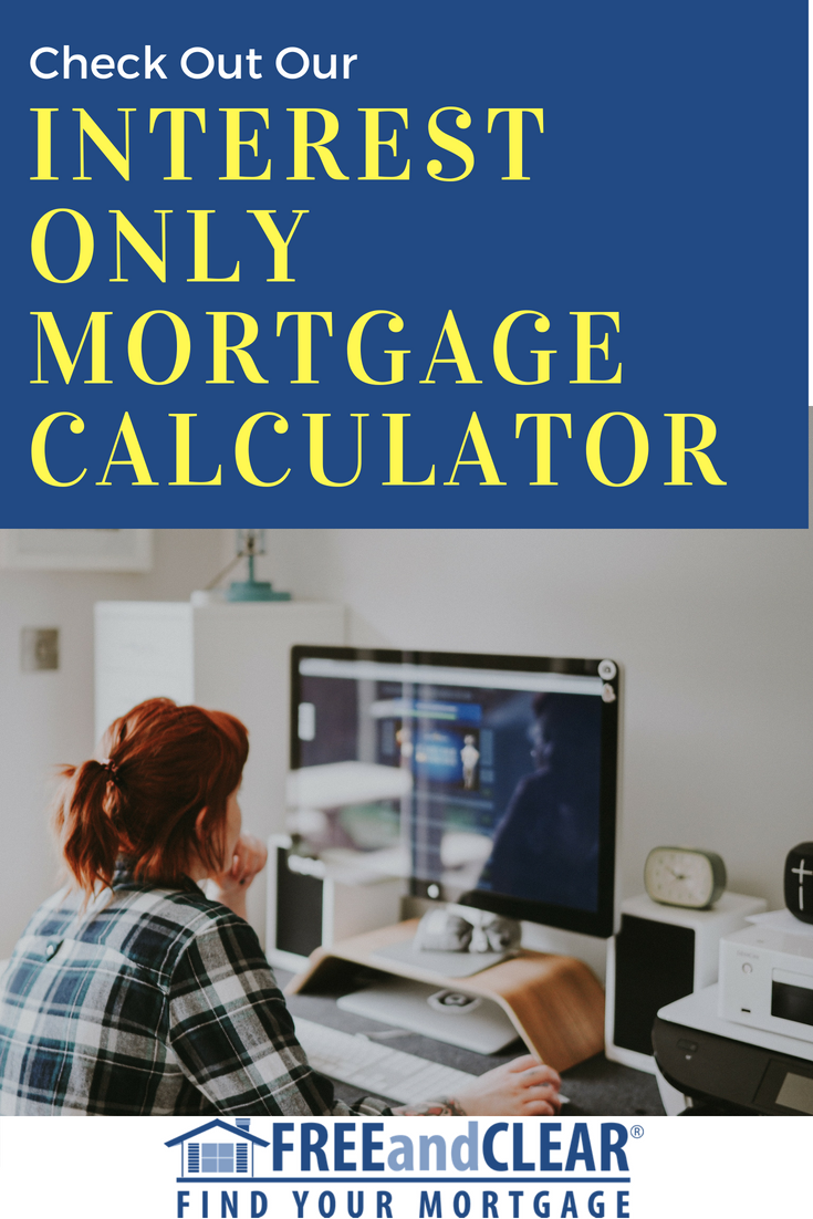 Interest Only Mortgage Calculator Fha Loans Interest Only Mortgage Mortgage Loan Calculator