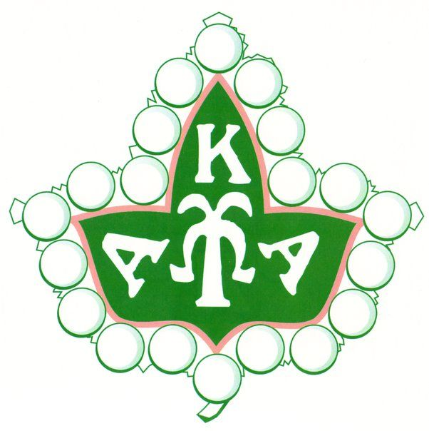 AKA Badge | Alpha Kappa Alpha | Pinterest | Badges, Ivy leaf and Ivy