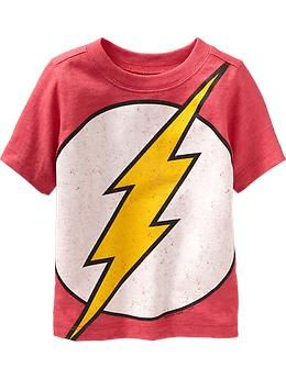 Dc Comics The Flash Tees For Baby Clothes For My Son Pinterest