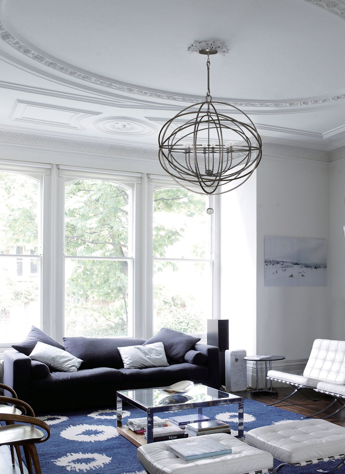 solaris 10 ring chandelier by crystorama 9209 eb - Large Living Room Chandeliers
