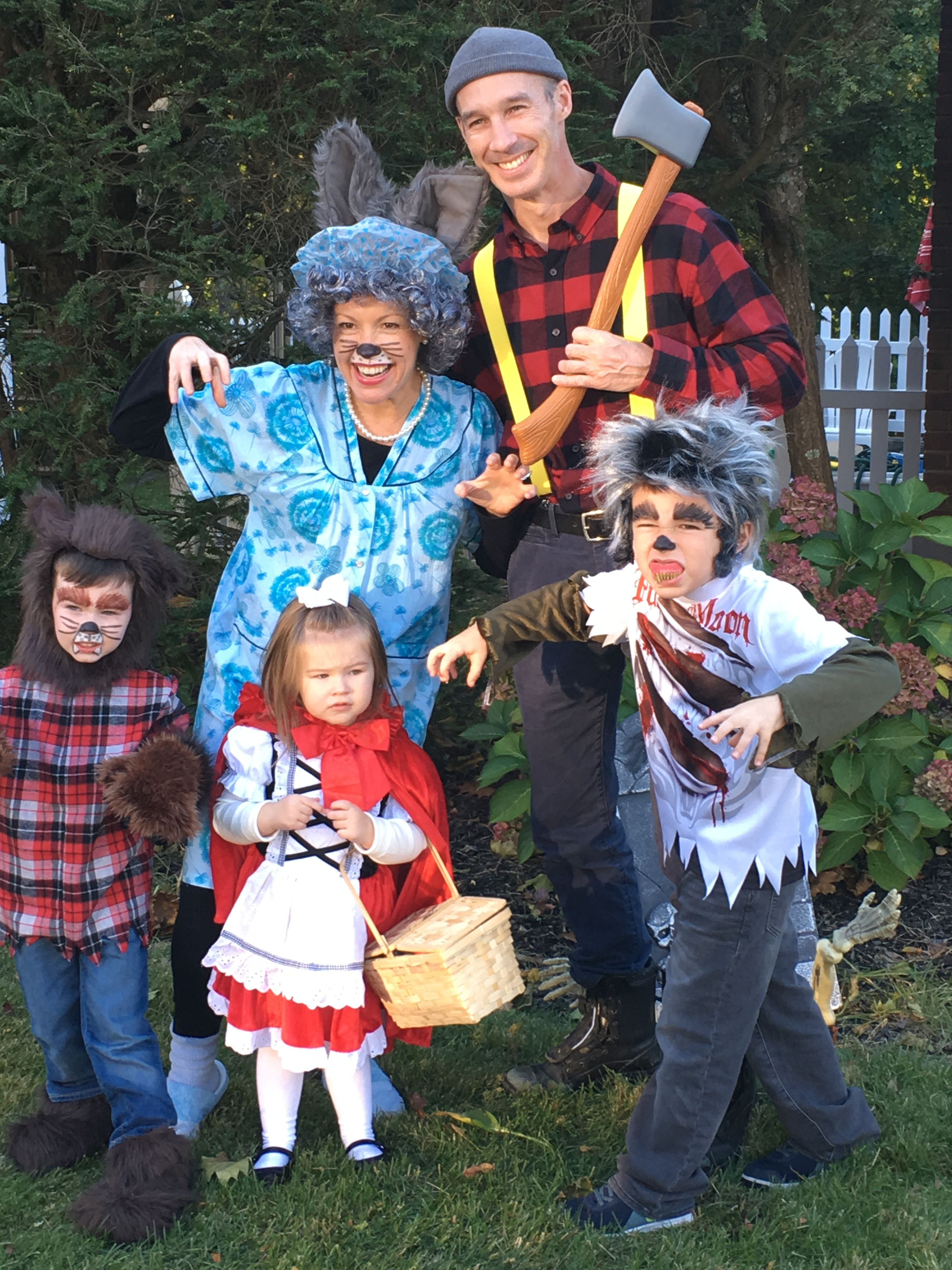 Little Red Riding Hood Family Costume With Images Little Red
