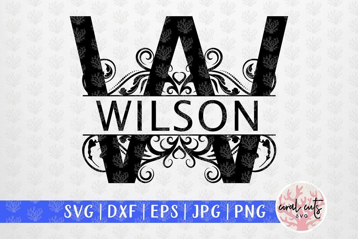 Download Swirl Split Monogram A To Z Letters Svg Eps Dxf Png File In 2020 Monogram Svg Monogram Letters Monogram Design