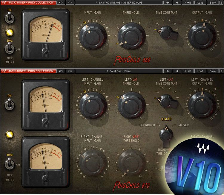 Waves PuigChild COMPRESSOR Plug-in v9/v10 *NEW*+1yr WUP