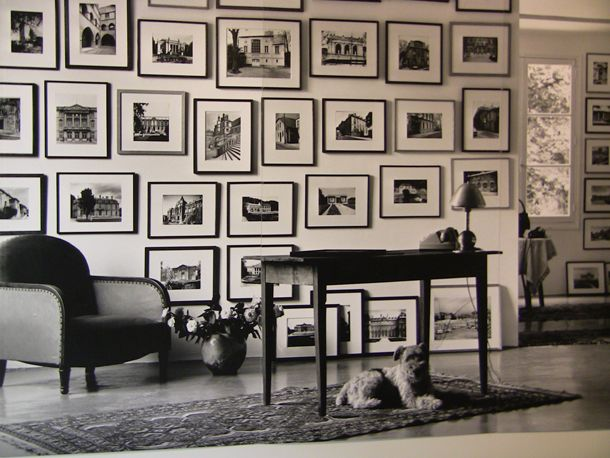 Black and white photos at capc museum of contemporary art bordeaux exhibition picture wall